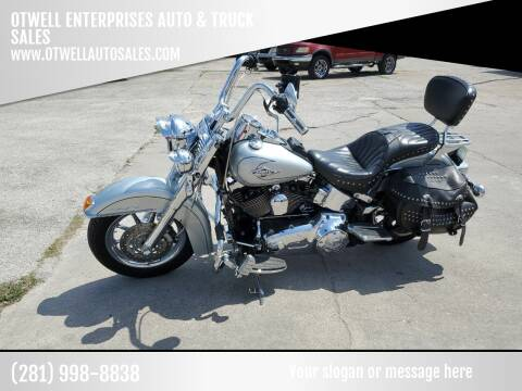 2010 Harley Davidson Flstc for sale at OTWELL ENTERPRISES AUTO & TRUCK SALES in Pasadena TX