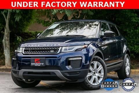 2018 Land Rover Range Rover Evoque for sale at Gravity Autos Atlanta in Atlanta GA