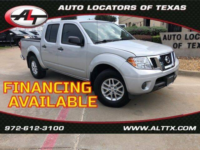2018 Nissan Frontier for sale at AUTO LOCATORS OF TEXAS in Plano TX