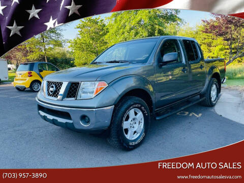 2005 Nissan Frontier for sale at Freedom Auto Sales in Chantilly VA