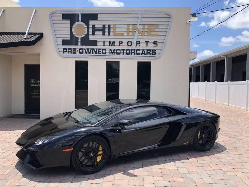 2015 Lamborghini Aventador for sale in Tampa, FL