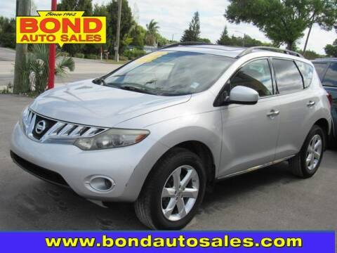 2009 Nissan Murano for sale at Bond Auto Sales in St Petersburg FL