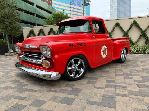 1958 Chevrolet Apache for sale at ROGERS MOTORCARS in Houston TX
