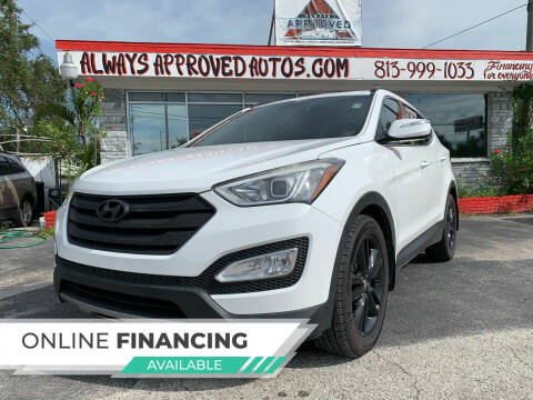 2013 Hyundai Santa Fe Sport for sale at Always Approved Autos in Tampa FL