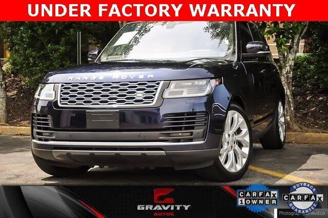 2018 Land Rover Range Rover for sale at Gravity Autos Atlanta in Atlanta GA