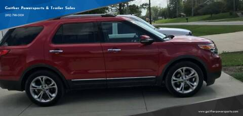 2011 Ford Explorer for sale at Gaither Powersports & Trailer Sales in Linton IN