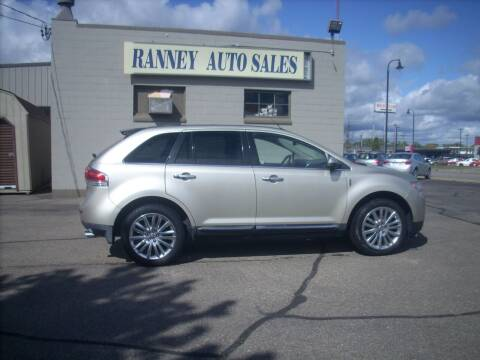 2011 Lincoln MKX for sale at Ranney's Auto Sales in Eau Claire WI