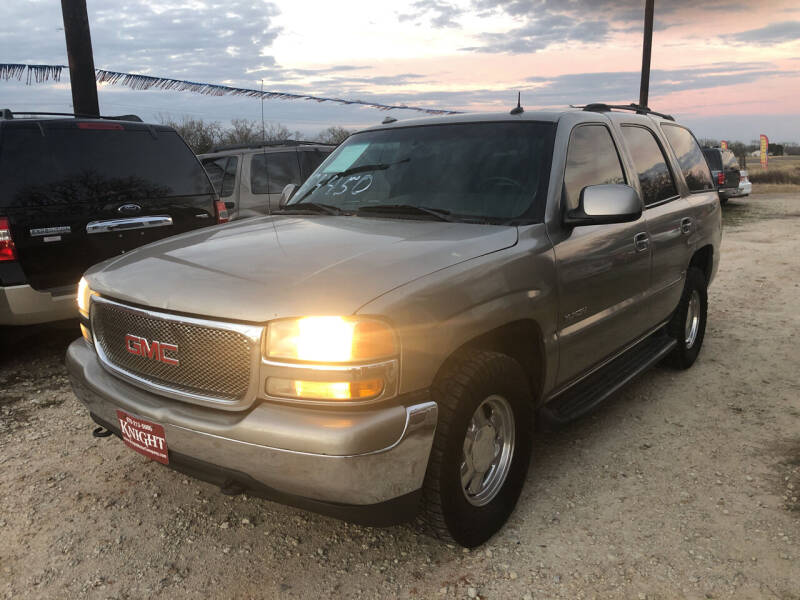 2003 GMC Yukon for sale at Knight Motor Company in Bryan TX