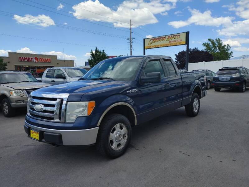2009 Ford F-150 for sale at Canyon Auto Sales in Orem UT