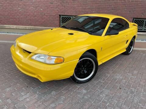 1998 Ford Mustang SVT Cobra for sale at Euroasian Auto Inc in Wichita KS