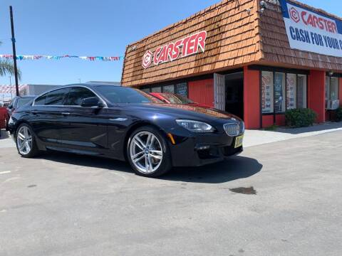 2013 BMW 6 Series for sale at CARSTER in Huntington Beach CA
