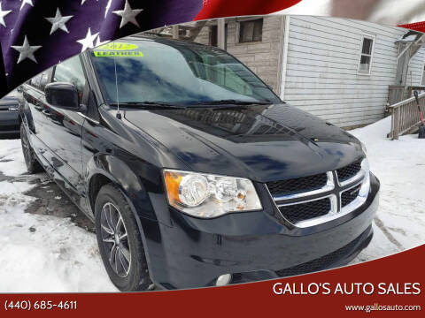 2017 Dodge Grand Caravan for sale at Gallo's Auto Sales in North Bloomfield OH