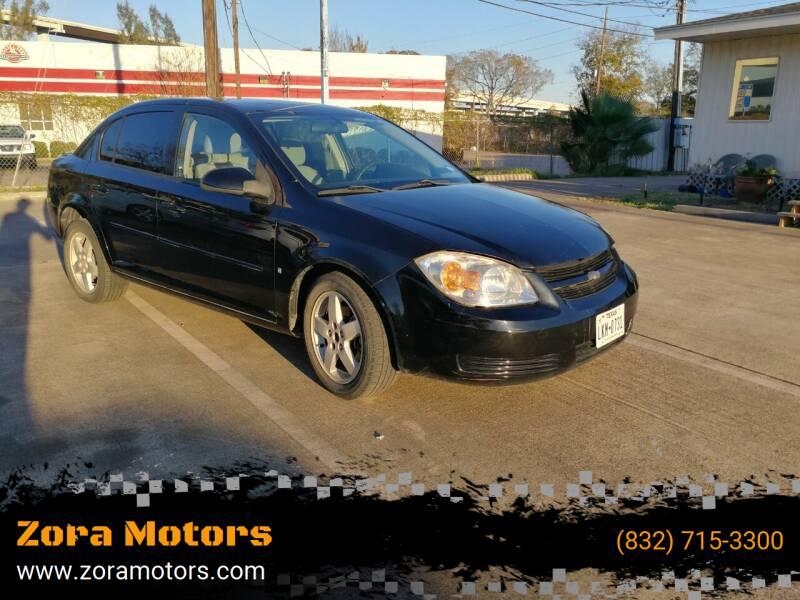 2009 Chevrolet Cobalt for sale at Zora Motors in Houston TX