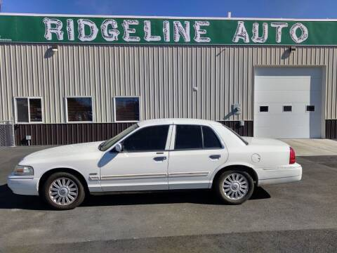 2011 Mercury Grand Marquis for sale at RIDGELINE AUTO in Chubbuck ID