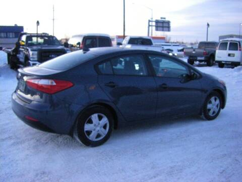 2016 Kia Forte for sale at NORTHWEST AUTO SALES LLC in Anchorage AK
