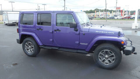 2017 Jeep Wrangler Unlimited for sale at Classic Connections in Greenville NC