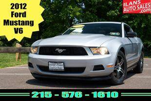 2012 Ford Mustang for sale at Ilan's Auto Sales in Glenside PA