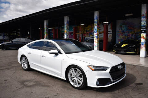 2019 Audi A7 for sale at ELITE MOTOR CARS OF MIAMI in Miami FL