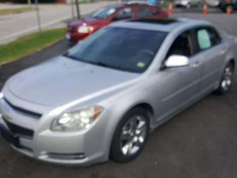 2010 Chevrolet Malibu for sale at Premier Auto Sales Inc. in Newport News VA