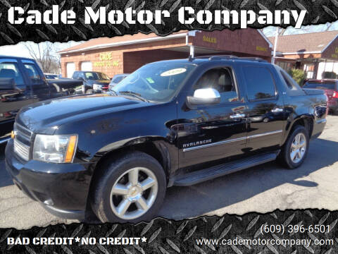 2009 Chevrolet Avalanche for sale at Cade Motor Company in Lawrenceville NJ