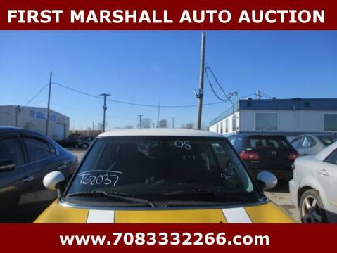 2008 MINI Cooper for sale at First Marshall Auto Auction in Harvey IL