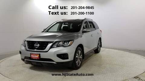 2018 Nissan Pathfinder for sale at NJ State Auto Used Cars in Jersey City NJ