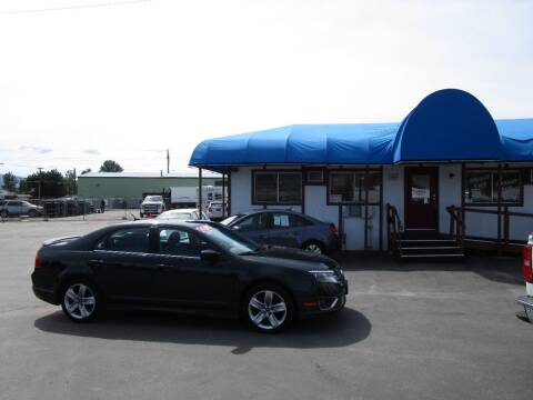 2010 Ford Fusion for sale at Jim's Cars by Priced-Rite Auto Sales in Missoula MT