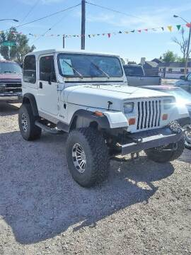 1991 Jeep Wrangler for sale at Good Guys Auto Sales in Cheyenne WY
