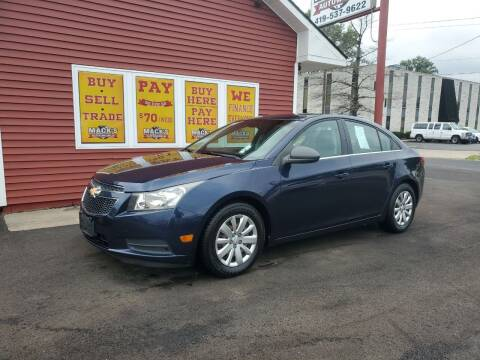 2011 Chevrolet Cruze for sale at Mack's Autoworld in Toledo OH