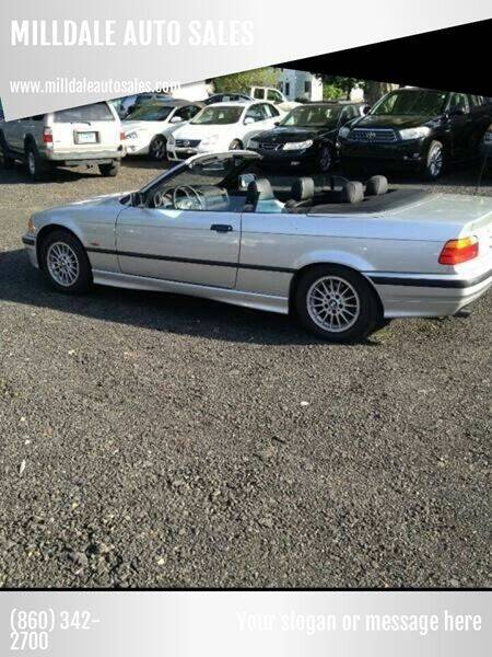 1999 BMW 3 Series for sale at MILLDALE AUTO SALES in Portland CT