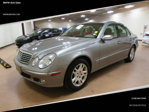 2003 Mercedes-Benz E-Class for sale at BMVW Auto Sales in Union City GA