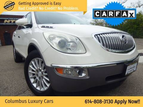 2011 Buick Enclave for sale at Columbus Luxury Cars in Columbus OH