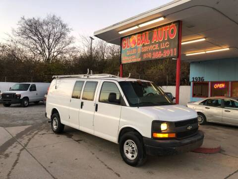 2008 Chevrolet Express Cargo for sale at Global Auto Sales and Service in Nashville TN