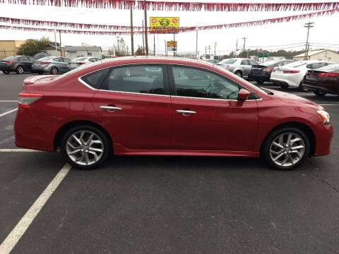 2014 Nissan Sentra for sale at Kenny's Auto Sales Inc. in Lowell NC