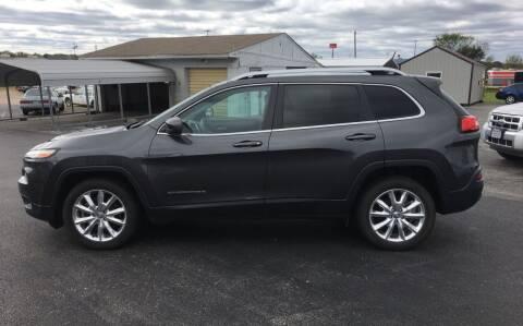 2016 Jeep Cherokee for sale at Village Motors in Sullivan MO