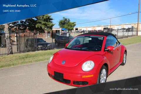 2009 Volkswagen New Beetle Convertible for sale at Highland Autoplex, LLC in Dallas TX