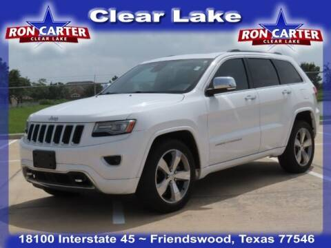 2014 Jeep Grand Cherokee for sale at Ron Carter  Clear Lake Used Cars in Houston TX