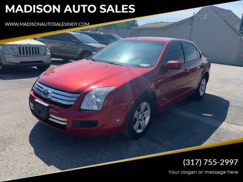 2006 Ford Fusion for sale at MADISON AUTO SALES in Indianapolis IN