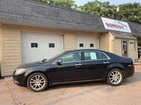 2010 Chevrolet Malibu for sale at Gordon Auto Sales LLC in Sioux City IA