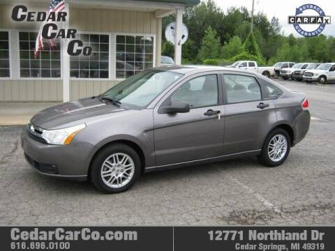 2010 Ford Focus for sale at Cedar Car Co in Cedar Springs MI