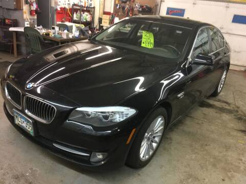 2011 BMW 5 Series for sale at Auto Tech Car Sales and Leasing in Saint Paul MN