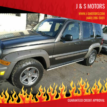 2006 Jeep Liberty for sale at J & S Motors in Chardon OH
