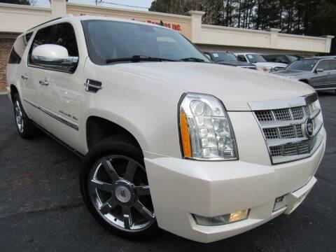 2012 Cadillac Escalade ESV for sale at North Georgia Auto Brokers in Snellville GA
