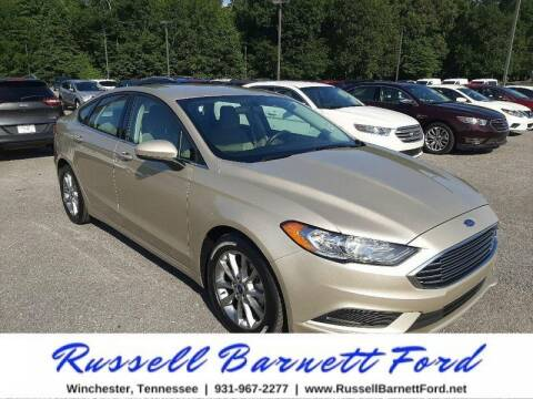 2017 Ford Fusion for sale at Oskar  Sells Cars in Winchester TN