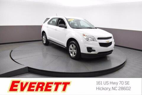 2015 Chevrolet Equinox for sale at Everett Chevrolet Buick GMC in Hickory NC