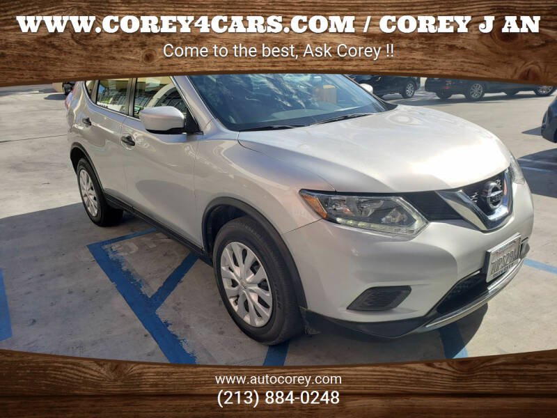 2016 Nissan Rogue for sale at WWW.COREY4CARS.COM / COREY J AN in Los Angeles CA