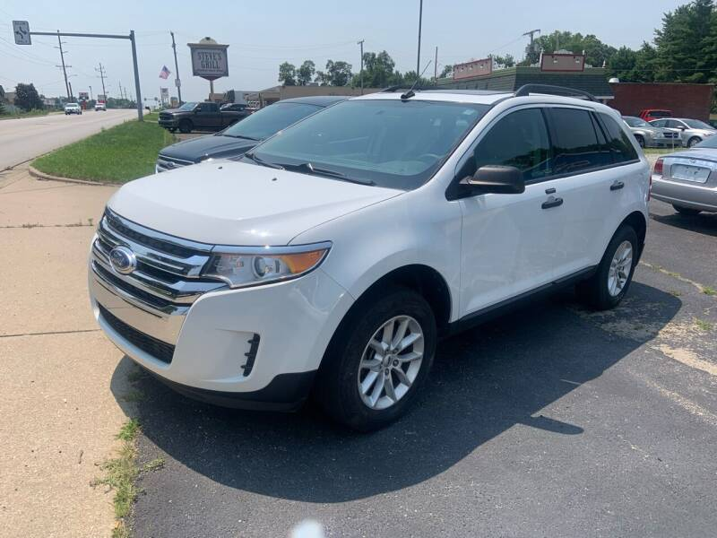 2014 Ford Edge for sale at GENE AND TONYS DEMOTTE AUTO SALES in Demotte IN