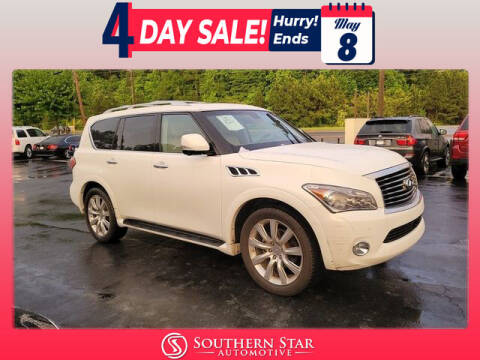 2011 Infiniti QX56 for sale at Southern Star Automotive, Inc. in Duluth GA