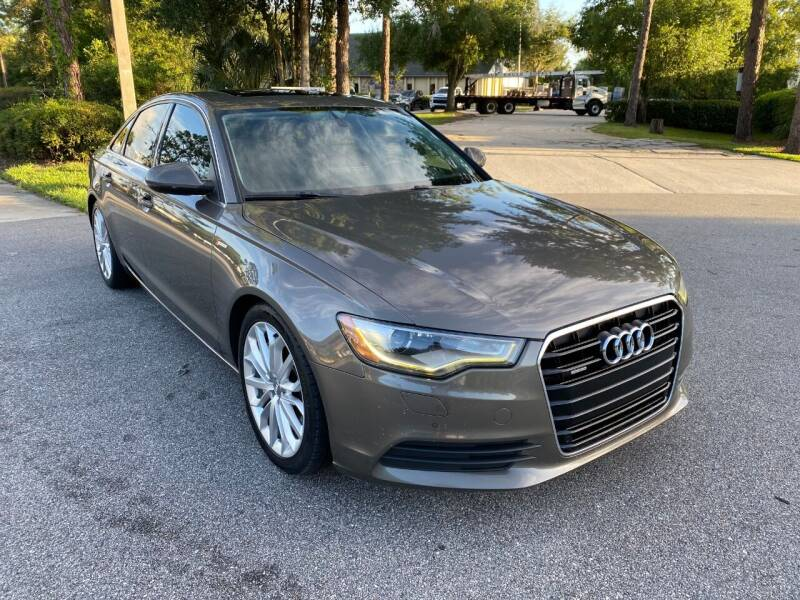 2012 Audi A6 for sale at Global Auto Exchange in Longwood FL