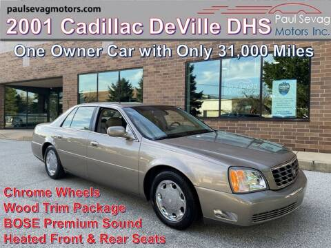 2001 Cadillac DeVille for sale at Paul Sevag Motors Inc in West Chester PA